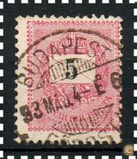 HUNGRIA - SCOTT 25 (o)  - 1888/98