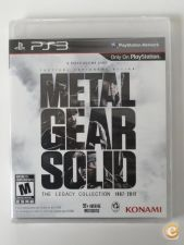 Metal Gear Solid Legacy Collection - NOVO Playstation 3