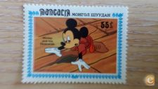 MONGOLIA - SCOTT 1382    DISNEY   MICKEY MOUSE