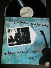 ROY ORBISON And Friends A Black And White Night 1989 LP