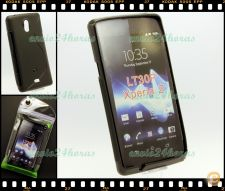 Capa case cover S-Line gel silicone Sony Xperia T LT30P Pret