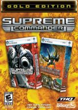 Supreme Commander Gold Edition - PC DVD (2 jogos)