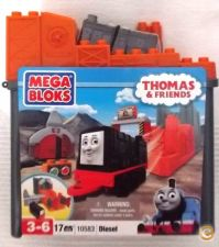 Mega Bloks 10583 -Thomas & Friends - Diesel