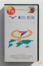 Cassete VHS - YES – 9012LIVE_A CONCERT FILM DIRECTED BY STEV