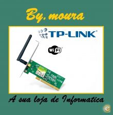 Placa PCI Wireless N TP-Link TL-WN751ND 150Mbps