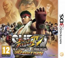Street Fighter IV 3D Edition - NOVO Nintendo 3DS