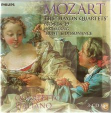 Mozart - The Haydn Quartets (3 CD)