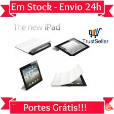 R532 Smart Cover Magnética Branca Apple Ipad 5 & 6 Air 1 & 2