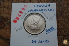 25-Centimes_CANADA_2008_( VANCOUVER-2010 )      A/R= [ 4995]