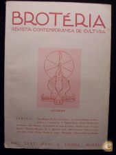 BROTÉRIA - REVISTA CONTEMPORÂNEA DE CULTURA (VOL. 35) 1942
