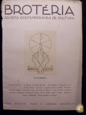 BROTÉRIA - REVISTA CONTEMPORÂNEA DE CULTURA (VOL. 37) 1943