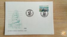 ALAND ISLANDS     ISLANDIA - SCOTT  FDC ANO 1984   BARCOS