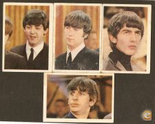 Beatles- 4 fotos numeradas antigas