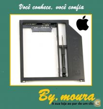Adapter Caddy SATA para SATA HDD Hard Disk Drive Macbook