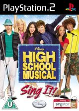 High School Musical Sing It! - NOVO Playstation 2