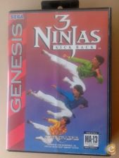 THREE 3 NINJAS KICK BACK md Genesis