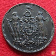 British Borneo Borneu do Norte 1 cent 1887