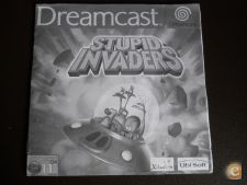 STUPID INVADERS,  xr só o MANUAL PT Dreamcast