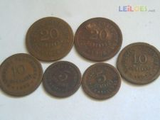 s/6 LOTE-5cent.1924+27-10cent.1925+26-20cent.1924+25    4,99