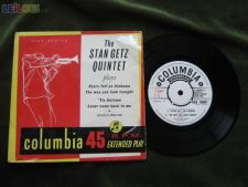 "THE STAN GETZ QUINTET-STARS FELL ON ALABAMA-SINGLE 7""-45 RPM"