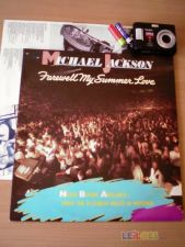 MICHAEL JACKSON Farewell My Summer Love 1984 LP