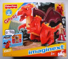 Imaginext  Castelo - Dragão - Fisher-Price