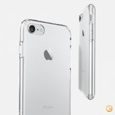 Capa Ultra Fina Silicone Gel TPU Transparente para iPhone 7