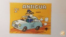 ANTIGUA - SCOTT 564  CARROS    ( DISNEY )