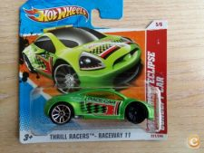 2011 HOT WHEELS - MITSUBISHI ECLIPSE CONCEPT CAR  *NOVO*