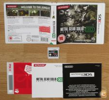 Metal Gear Solid 3D - 3DS