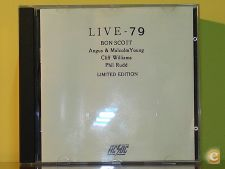 AC/CD - LIVE 79 (cd ALBUM) Unofficial Release