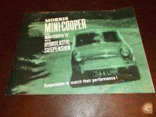 Mini-Cooper Cooper S Hydrolastic  Suspension Brochura/Morris