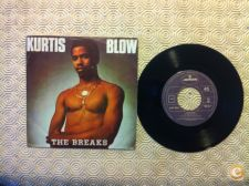 "Disco Vinil single 7"" Kurtis Blow The Breaks"