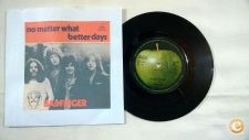 "BADFINGER No Matter What 7""Single Apple Records ‎– APPLE 31"