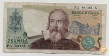 ITALY 2000 LIRE 1983 PICK 103 VER SCANS