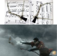 *72h* Fio Harry Potter Firebolt  Nimbus 2000 vassoura
