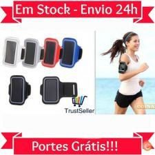 R80 Braçadeira Desporto Branca iPhone 3G 3GS 4 4S Stock 24h