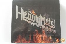 Pack de 3 CD **The Heavy Metal Anthology** Novo & Selado