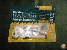 8 Vinis Berkley-Power Bait-Power Scamper P/ Spinning