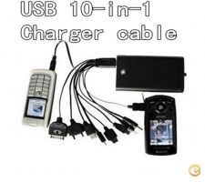 Charger Cable Usb para iPod Motorola Nokia Samsung LG Sony