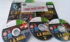 "LA Noire ""The Naked City""  - Bom estado - XBOX 360"