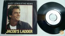 "HUEY LEWIS & THE NEWS Jacob´s ladder 7""Single"