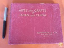 50´s Arts and crafts of Japan and China excelente catálogo