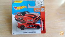 2015 HOT WHEELS - CUSTOM 2015 FORD MUSTANG 1/64  *NOVO*