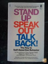 Stand up Speak out Talk back !
