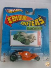 Hot Wheels 2010  Tomb Up  Glow  Colour Shifters