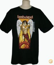 TSHIRT LAMB OF GOD  NOVA OFICIAL METALLICA PANTERA