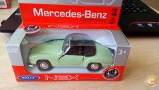 WELLY - MERCEDES 190 SL   1/36   APROX  *NOVO*