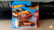 2018 HOT WHEELS - VW VOLKSWAGEN GOLF MK7        1/64 *NOVO*