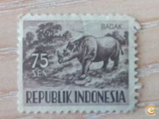 INDONESIA - SCOTT 431 - ANIMAIS